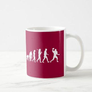 American football mug - football evolution players