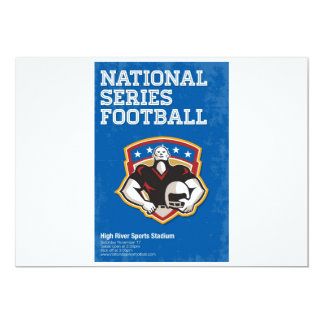 American Football National Series Poster Art Custom Invites
