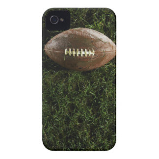 American football on grass, view from above iPhone 4 case