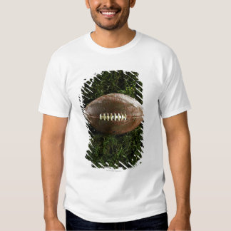 American football on grass, view from above t-shirt