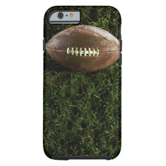 American football on grass, view from above tough iPhone 6 case