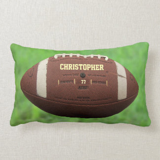 American Football Or Rugby Ball Pillow