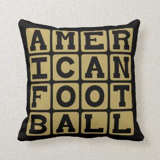 American Football, Pigskin Sport Pillows