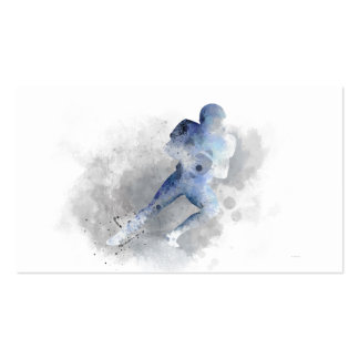 AMERICAN FOOTBALL PLAYER 1 BUSINESS CARD