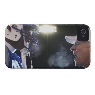 American football player and referee arguing, iPhone 4 Case-Mate case