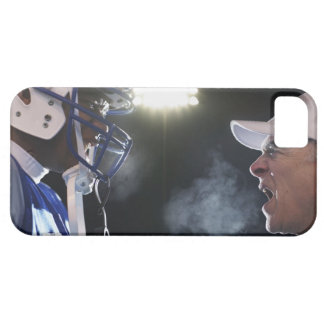 American football player and referee arguing, iPhone SE/5/5s case