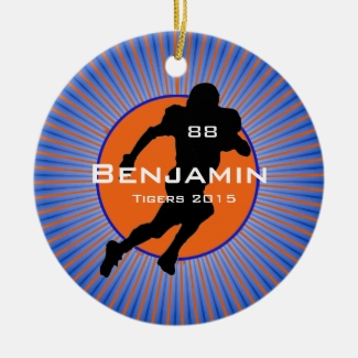 American Football Player Design Ornament