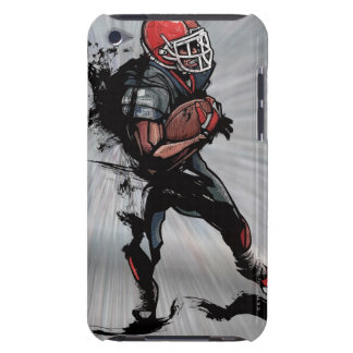 American football player holding football barely there iPod covers