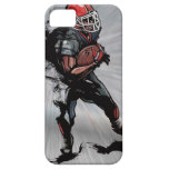 American football player holding football iPhone 5 covers