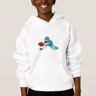 American Football Player Touchdown Drawing Hoodie