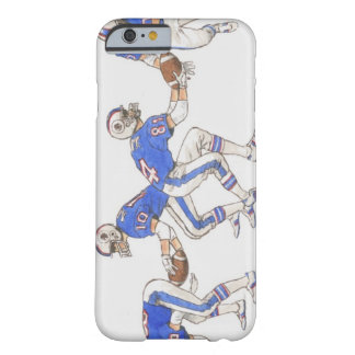 American football players demonstrating moves barely there iPhone 6 case