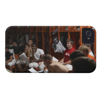 American football players including teenagers 2 iPhone 4 Case-Mate case