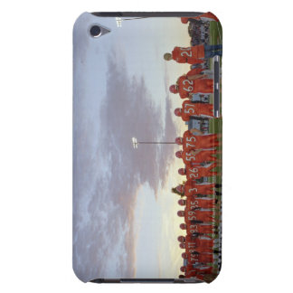 American football players including teenagers barely there iPod case