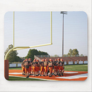 American football players, including teenagers mouse pad