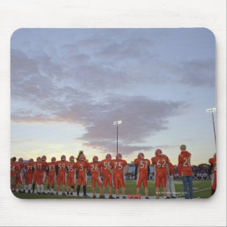 American football players including teenagers mouse pad