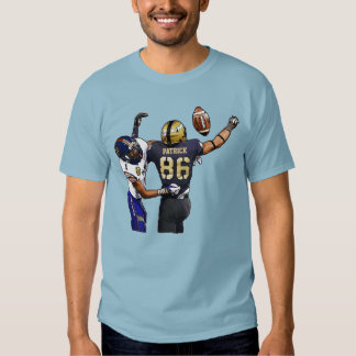 American Football Players With Your Name Painting T-Shirt