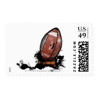 American football postage