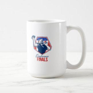 American Football Quarterback Shield Conference Fi Coffee Mug