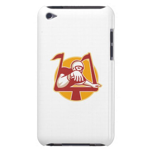 American Football Receiver Scoring Touchdown iPod Touch Case-Mate Case