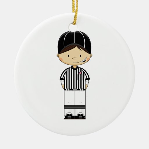 American Football Referee Ornament