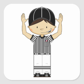 American Football Referee Sticker