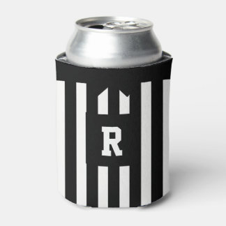 American Football Referee Stripes Can Cooler
