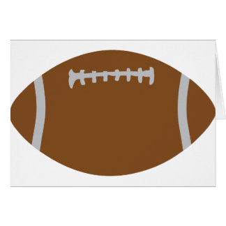 american football rugby ball illustration cards