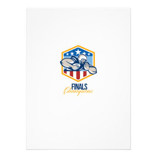 American Football Running Back Finals Champions Personalised Invite