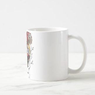 American Football Skeleton Player Classic White Coffee Mug