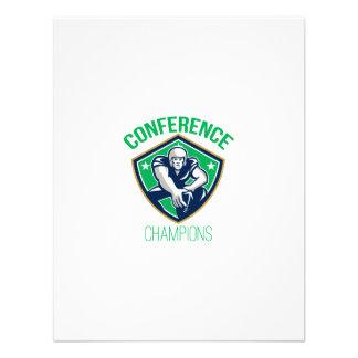 American Football Snap Conference Champions Custom Invites