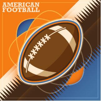 American Football Sport Ball Game Cutout