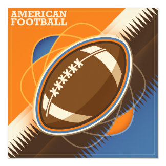 American Football Sport Ball Game Magnetic Card