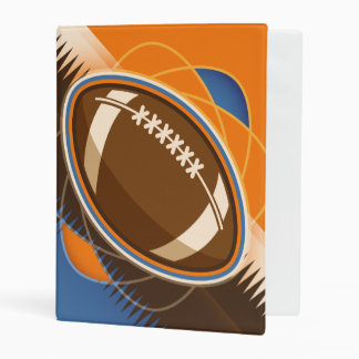 American Football Sport Ball Game Mini Binder