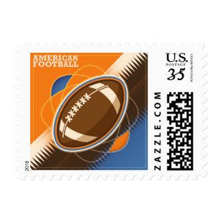 American Football Sport Ball Game Postage