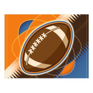American Football Sport Ball Game Postcard