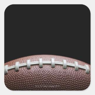American Football Square Sticker