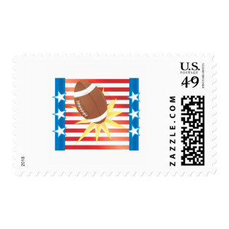 American Football Stamp