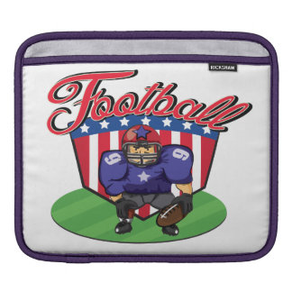 American Football Star Sleeve For iPads