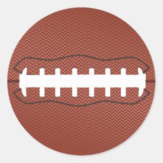 american football classic round sticker
