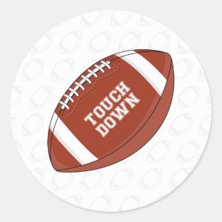 American Football Sticker Sheet