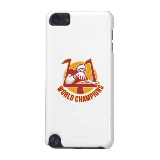 American Football Touchdown World Champions iPod Touch 5G Case