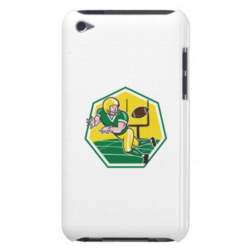 American Football Wide Receiver Catching Ball Cart iPod Touch Cases