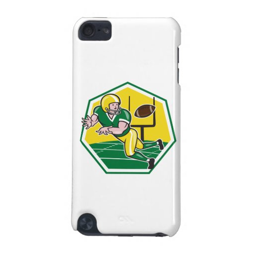 American Football Wide Receiver Catching Ball Cart iPod Touch (5th Generation) Case