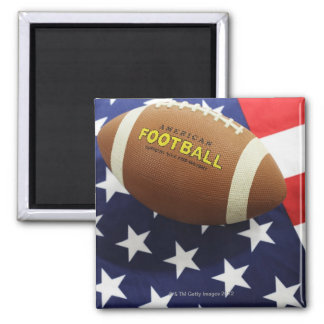 American football with the US flag Refrigerator Magnets