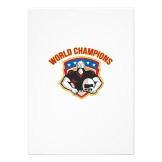 American Football World Champions Shield Announcement