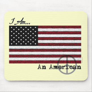 American For Peace Mousepad