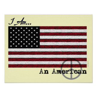 American For Peace Poster