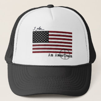 American For Peace Trucker Hat