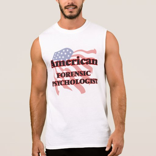 American Forensic Psychologist Sleeveless Tee Tank Tops, Tanktops Shirts