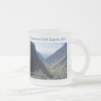 American Fork Canyon Mug